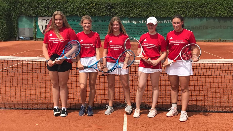 Mädchen-16-Mannschaft des Weißenburg Tennisclubs beendet Saison erfolgreich