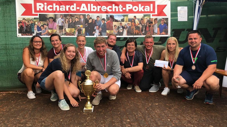 Mixed Turnier um den Richard-Albrecht-Pokal beim WTC